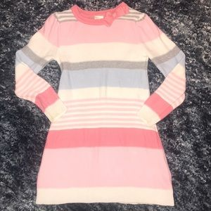 Gymboree Cozy Fairytale Sweater Dress Striped 4